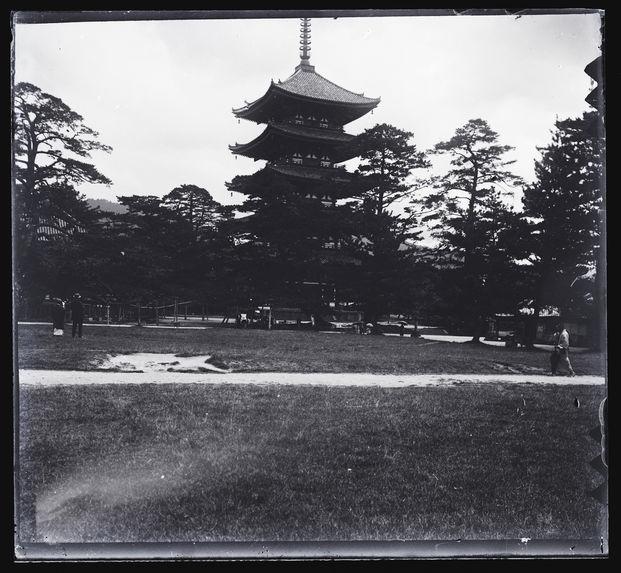 Pagode et grand parc de 1000 ans, Narra, Japon