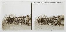 Groupe de soldats blancs à Gambos