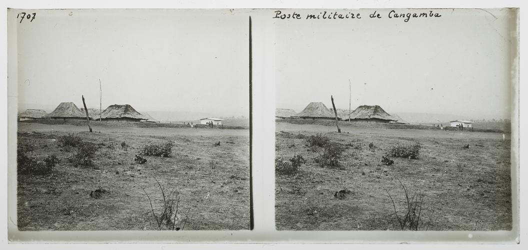 Poste militaire de Cangamba