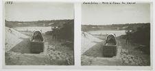 Zambèze, mise à l'eau du canot