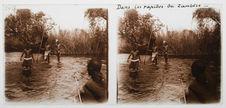 Dans les rapides du Zambèze