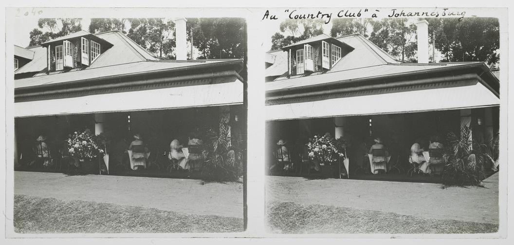 "Au ""Country Club"" à Johannesburg"
