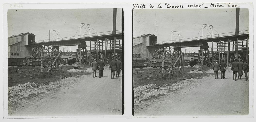 """Visite de la """"Crown mine"""", mine d'or"""