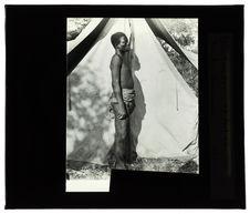 Wimbundus, Domba-Cunavale, 27 août 1913 [homme de profil]