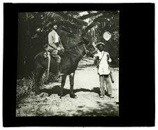 Docteur Garnier et le nègre Kacuambi à Huilla