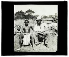 Type de Cuambi, capitaine Grimaud et nègre Kacuambi, passage du Cuïto, 15 juin...