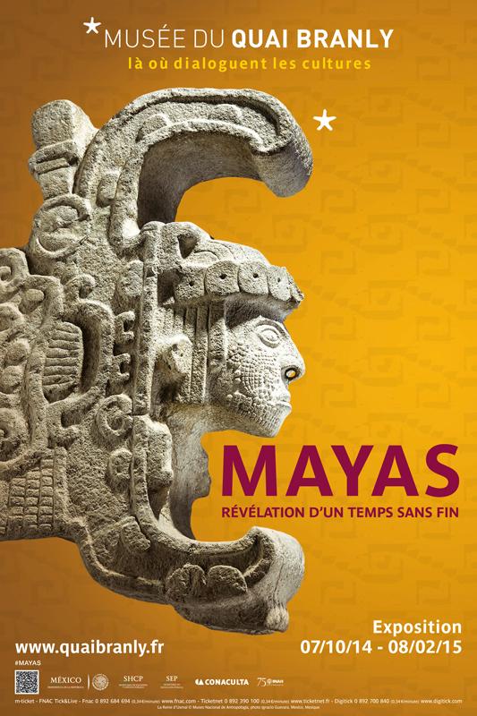 Les Mayas au musée du Quai Branly dans Ancien thème (2015-2016) :